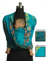 Слинг-шарф GypsyMama Bali Baby Breeze Morgaine. 5,5 м (б/у)